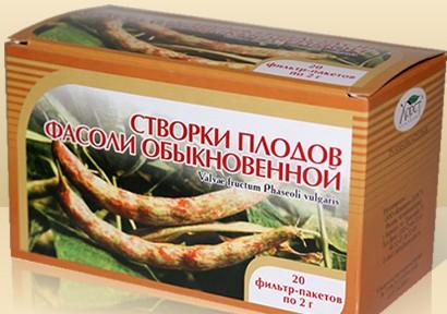 Створки фасоли - аптечная упаковка
