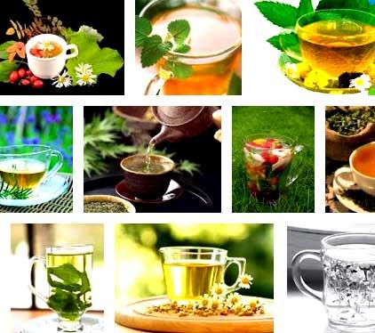 Травяные мочегонные чаи