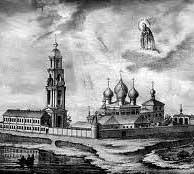 Рисунок монастыря