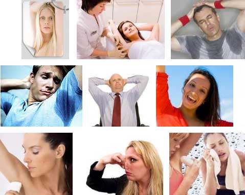 Как избавится от пота в подмышках